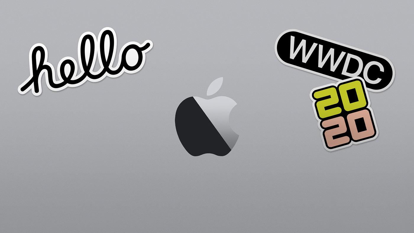 Symbol för Apples utvecklarkonferens WWDC 2020