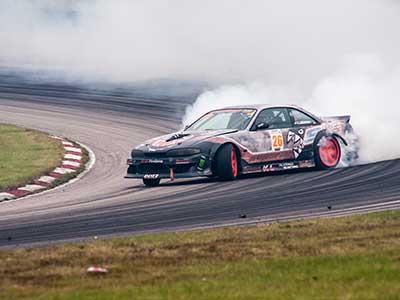 Sportfoto - racing på Anderstorp