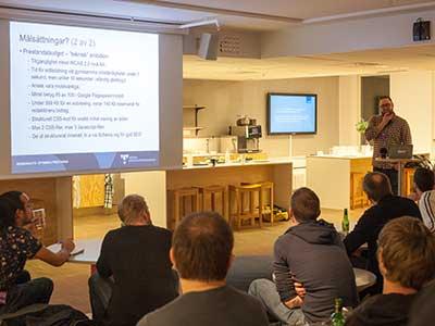 Föreläsning för Stockholm Web Performance Meetup